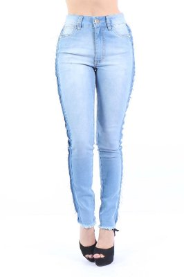 CALCA HIGH SKINNY - AZUL INDIGO