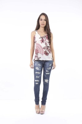 BLUSA CASUAL - WHITE YARD