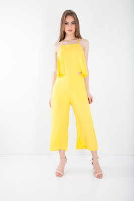 CROPPED HAPPY HOUR - AMARELO