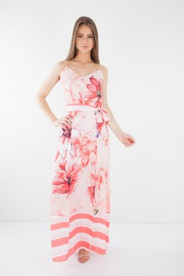VESTIDO HAPPY HOUR ESTAMPADO - OIL PANT
