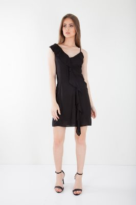VESTIDO HAPPY HOUR COLLOR - PRETO