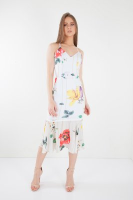 VESTIDO HAPPY HOUR - POPPY OFFWHITE
