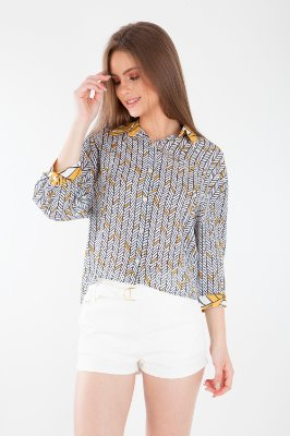 CAMISA ESTAMPADA - SUNNY ABSTRACT