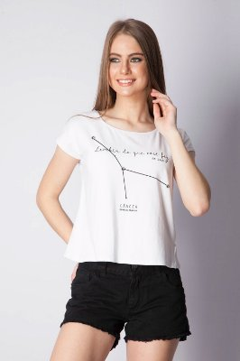 T-SHIRT HAPPY HOUR SIGNOS - CANCER