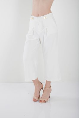 CALÇA PANTACOURT - OFF-WHITE