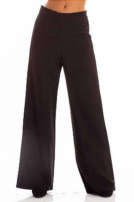 Calça Alfaiataria Bana Bana Pantalona Preta