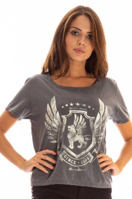 T-SHIRT CASUAL ESTAMPADA