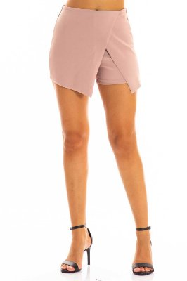Shorts Saia Bana Bana Assimétrico
