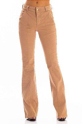 Calça Jeans Bana Bana High Flare Alfaiataria