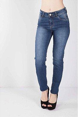Calça Jeans Bana Bana Midi Skinny Azul