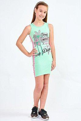 Vestido Bana Bana Star com Decote