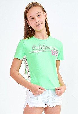 Blusa Bana Bana T-Shirt Star Verde Neon