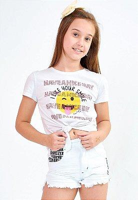 Blusa Bana Bana Star T-Shirt com Amarração