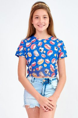 T-Shirt Bana Bana Star Estampa Sushi
