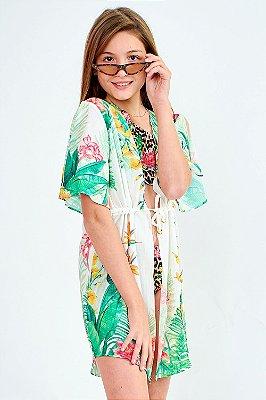 Saída de Praia Bana Bana Star Kimono