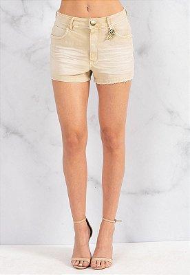 Shorts Jeans Bana Bana Camyla Areia
