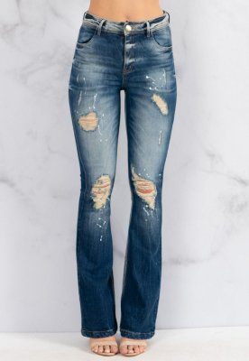 Calça Jeans Bana Bana Angelina Flare