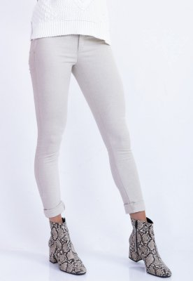 CALÇA SKINNY ANGELINA - NATURAL