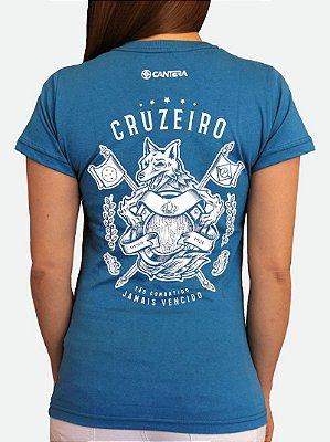 Camisa do Cruzeiro - Jamais Vencido | Feminina