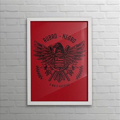 Quadro do Flamengo - Rubro Negro