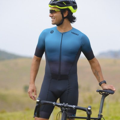 Macaquinho Triathlon Unissex Vezzo Kauai