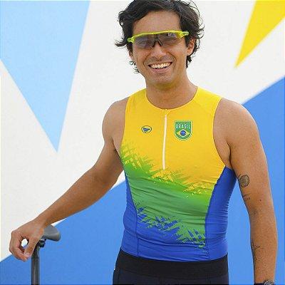 Top Triathlon Masculino Vezzo Brasil