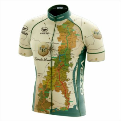 Camisa Masculina Ciclismo e MTB Vezzo Estrada Real