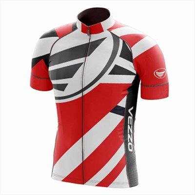 Camisa Masculina Ciclismo e MTB Vezzo Exclusive Red