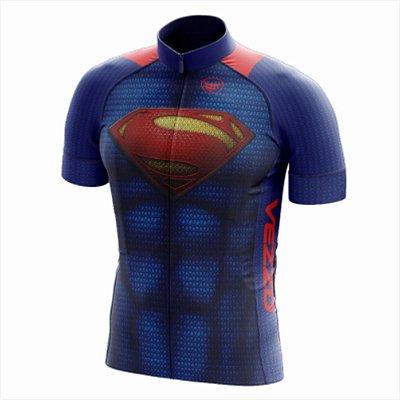 Camisa Masculina Ciclismo e MTB Vezzo Superman