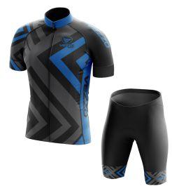 Conjunto Masculino Ciclismo e MTB Vezzo Diamond Sky