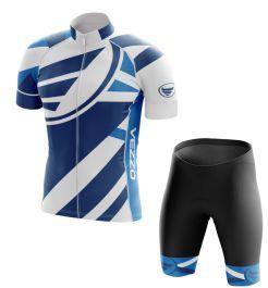 Conjunto Masculino Ciclismo e MTB Vezzo Exclusive Blue