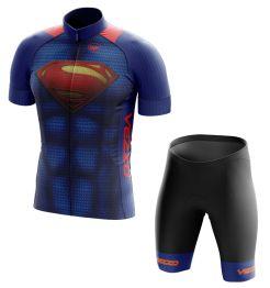 Conjunto Masculino Ciclismo e MTB Vezzo Superman