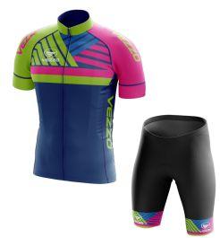 Conjunto Masculino Ciclismo e MTB Vezzo Touch