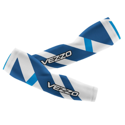 Manguito Masculino Ciclismo Vezzo Exclusive Blue