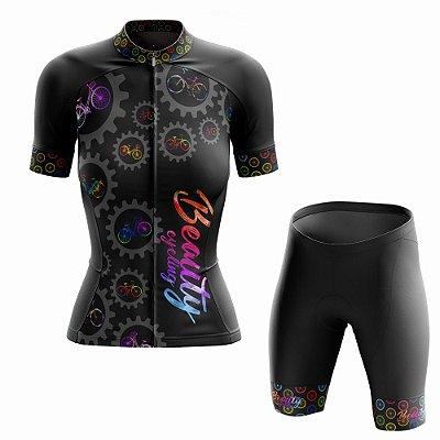 Conjunto Ciclismo Feminino Beauty Biker