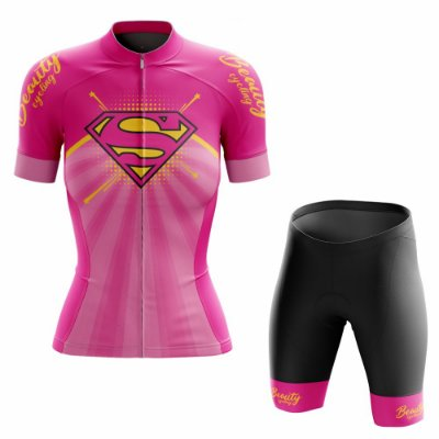 Conjunto Ciclismo Feminino Beauty SuperGirl