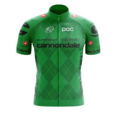 Camisa Ciclismo Mtb Bike Cannondale Verde World Tour