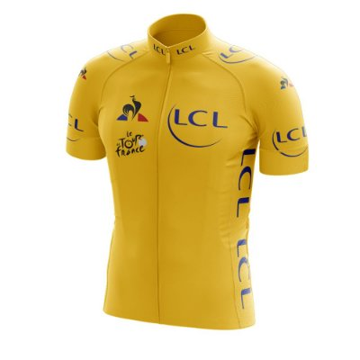 Camisa Ciclismo Tour de France Amarela - Líder