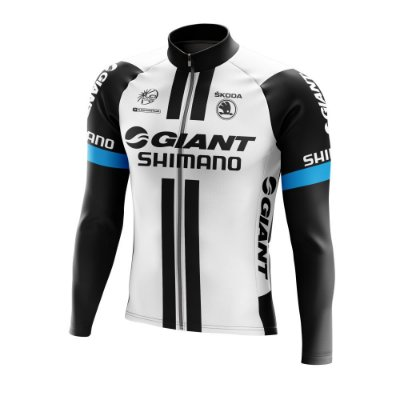 Camisa Manga Longa Ciclismo Mtb Bike GIANT World Tour