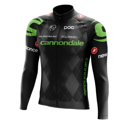 Camisa Manga Longa Ciclismo Mtb Bike Cannondale Preta World Tour