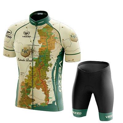 Conjunto Masculino Ciclismo e MTB Vezzo Estrada Real