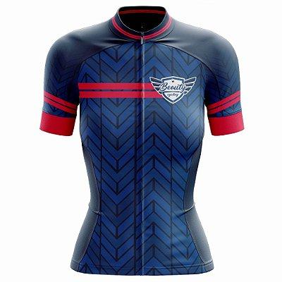 Camisa Feminina Ciclismo Beauty Impetus