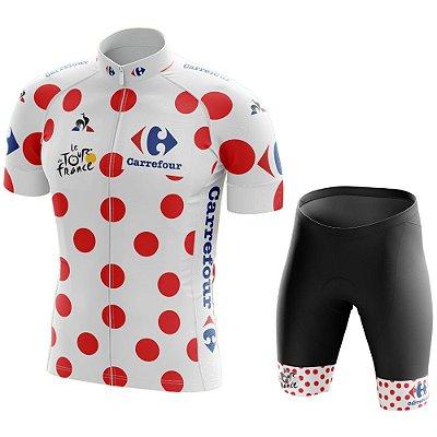 Conjunto Masculino Tour de France Bolinhas - Montanha