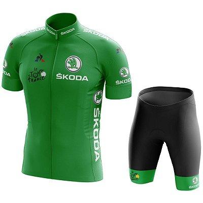 Conjunto Masculino Tour de France Verde - Sprint
