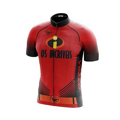 Camisa Masculina Ciclismo e MTB Vezzo Os Incríveis