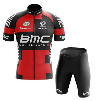 Conjunto Masculino World Tour BMC