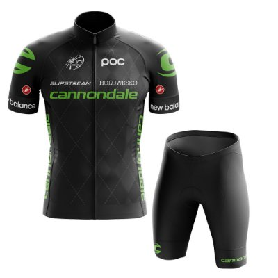 Conjunto Masculino World Tour Cannondale Preta