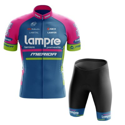 Conjunto Masculino World Tour Lampre