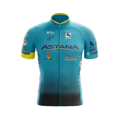 Camisa Ciclismo MTB World Tour Astana