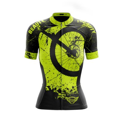 Camisa Feminina Ciclismo Beauty Hardway Y - Fluor Effect